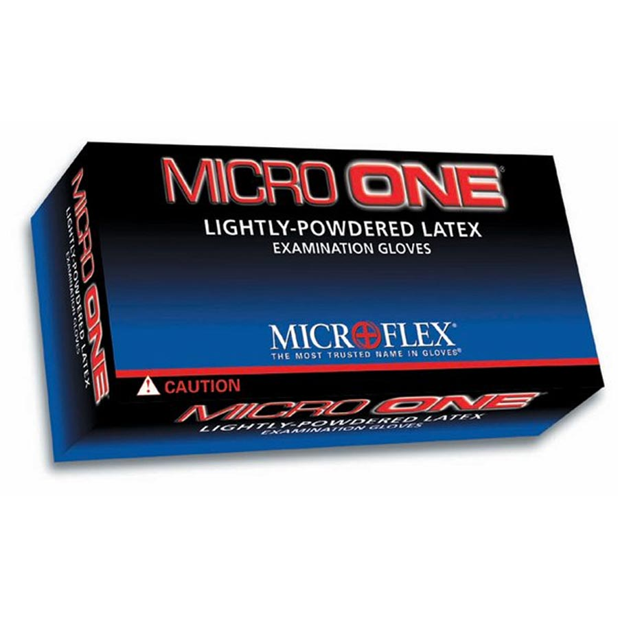 Microflex MO-150M Micro One Light Powder Latex Gloves 10 Boxes Medium