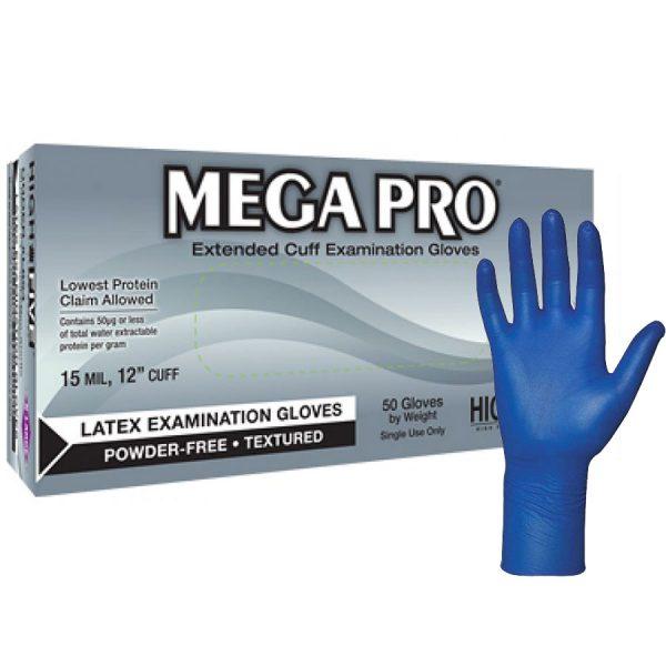 Mega Pro Powder-Free Latex Gloves